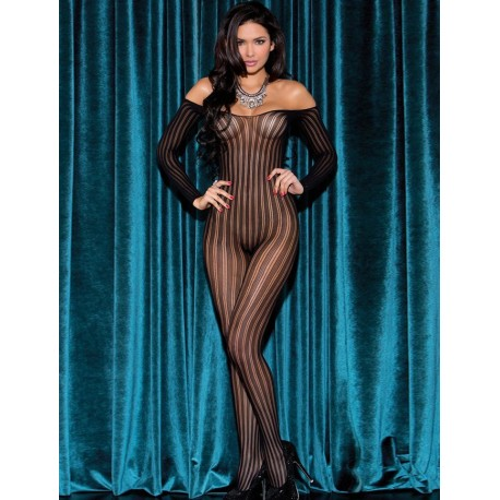 Bodystockings Negru SH3140