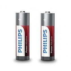2 x baterii Philips AA R6