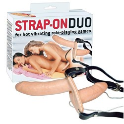Vibrator Strap-On Duo