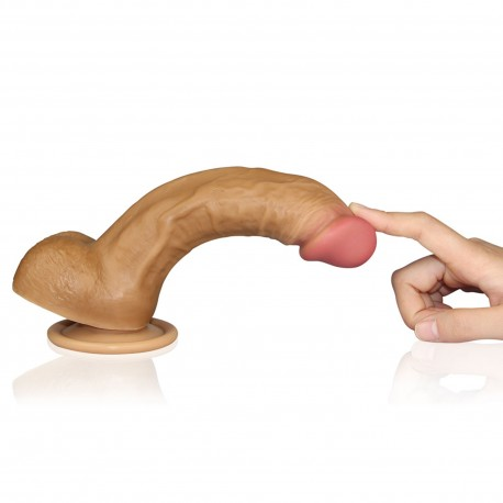Dildo Natural Super Realist Dual-layered SV4004B