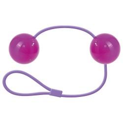 Bile vaginale-anale CANDY BALLS , violet