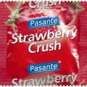 Prezevativ Pasante cu aroma de capsuni