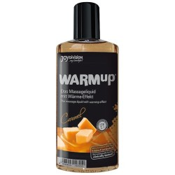 Ulei pentru masaj Warmup caramel