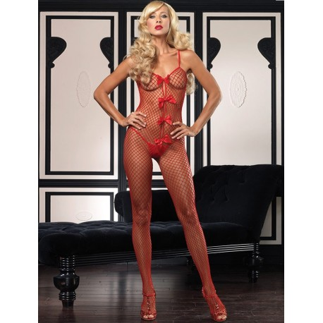 Bodystocking Rosu NN